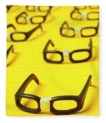 Smart Contract Dress Code Fleece Blanket