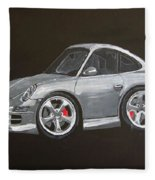 Smart Porsche Fleece Blanket
