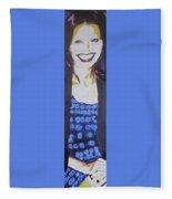 Smile Of Beauty Fleece Blanket