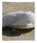 Smiling Shell Fleece Blanket