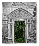 Smith College Greenhouse Fleece Blanket
