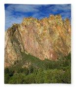 Smith Rock Oregon Fleece Blanket