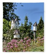 Birdhouses Fleece Blanket