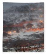 Smoke Like Clouds Fleece Blanket