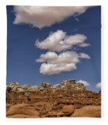 Smoke Signals Fleece Blanket