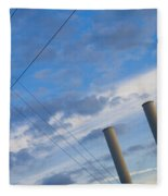 Smoke Stax Fleece Blanket