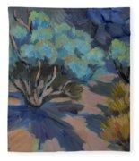 Smoke Tree In La Quinta Cove Fleece Blanket