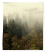 Smoky Mount Horizontal Fleece Blanket