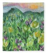Smoky Mountain Dreamin Fleece Blanket