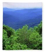 Smoky Mountain National Park Fleece Blanket