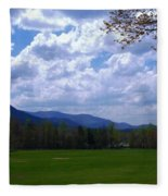 Smoky Mountain Range Fleece Blanket