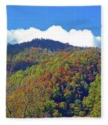 Smoky Mountain Scenery 6 Fleece Blanket