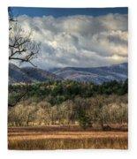 Smoky Mountain Splendor Fleece Blanket