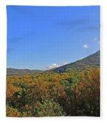 Smoky Mountains Scenery 9 Fleece Blanket
