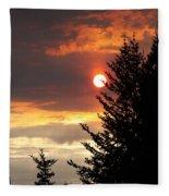 Smoky Sun Fleece Blanket