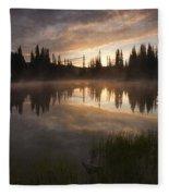 Smoldering Dawn Fleece Blanket