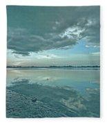 Smooth Blues Fleece Blanket