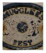 Smugglers Rest Or Rust? Fleece Blanket