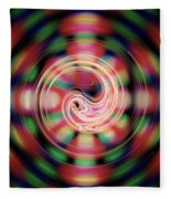 Snake Pit Abstract Fleece Blanket