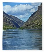 Snake River Hells Canyon Fleece Blanket