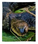 Snakehead Fleece Blanket