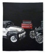 Snap-on Ford Trucks Fleece Blanket
