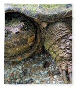 Snapping Turtle Fleece Blanket