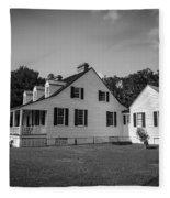 Snee Farm And Charles Pinckney Fleece Blanket
