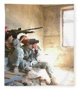 Sniper Crew Fleece Blanket