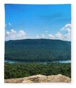 Snooper's Rock Overlook Fleece Blanket