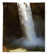 Snoqualmie Falls Washington Fleece Blanket