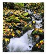 Snoqualmie National Fores Fleece Blanket