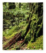 Snoqualmie National Forest Fleece Blanket
