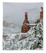 Snow 06-027 Fleece Blanket