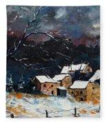 Snow 57 Fleece Blanket