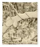 Snow Arch Fleece Blanket