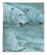 Snow Blind Fleece Blanket