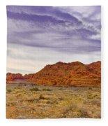 Snow Canyon Fleece Blanket