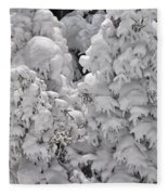 Snow Coat Fleece Blanket