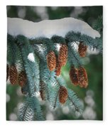 Snow Cones Fleece Blanket