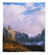 Snow Covered Mountain Range, The Fleece Blanket