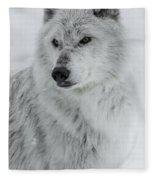 Snow Dog Fleece Blanket