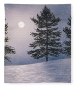 Snow Light Fleece Blanket