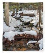 Snow Melt Fleece Blanket