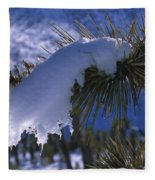 Snow Ornament - Joshua Tree Fleece Blanket