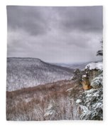 Snow Remoteness Fleece Blanket