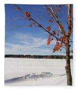 Snow Ripple Fleece Blanket