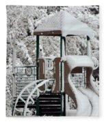 Snow Slide Fleece Blanket
