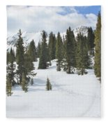 Snow Trail Fleece Blanket