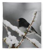 Snow Watcher Fleece Blanket